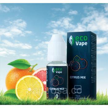 Жидкость для электронных сигарет со вкусом  цитрусовый mix (10 мл)