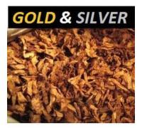 Silver and gold - жидкость для электронных сигарет 30 мл
