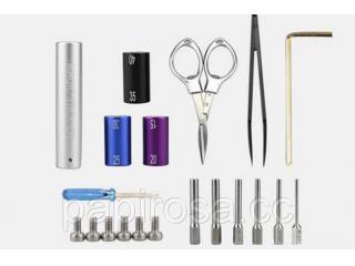 """Набор для намотки """"The toolbox of Electronic cigarette"""" - обзор и комплектация"""