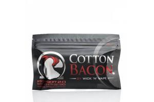 Вата для электронных сигарет Wick 'N' Vape Cotton Bacon V2